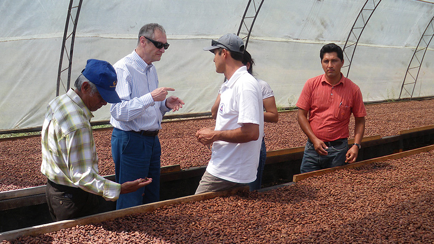 Peru: partnership with farmers