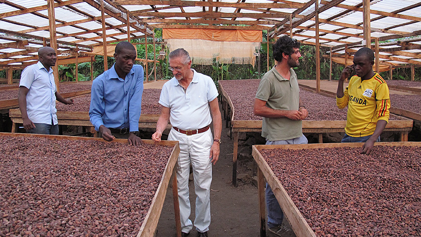 Uganda: partnership with farmers