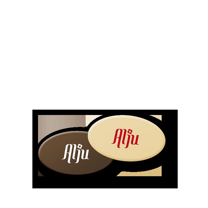 Cialdine Personalizzate Ovali