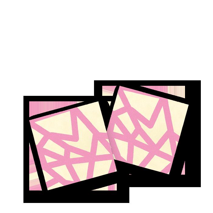 Optical rosa - quadratini