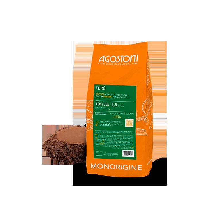 Natural Cocoa 10/12 Single-Origin Peru - see label