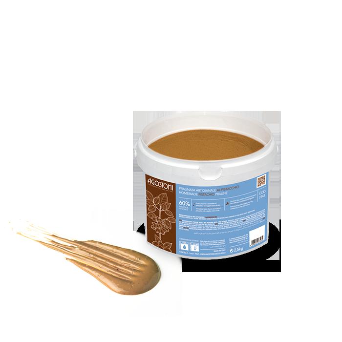 Artisanal Pistachio Praline 60%