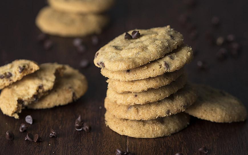 Chocolate cookies shortcrust