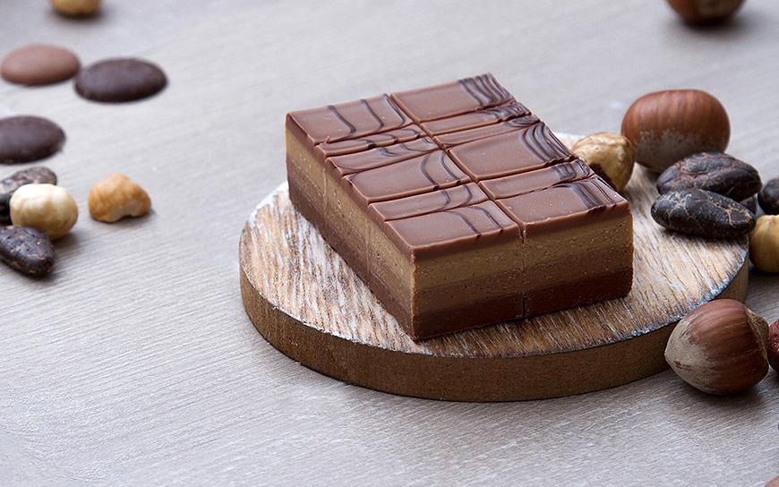 Cremino Tre Cioccolati