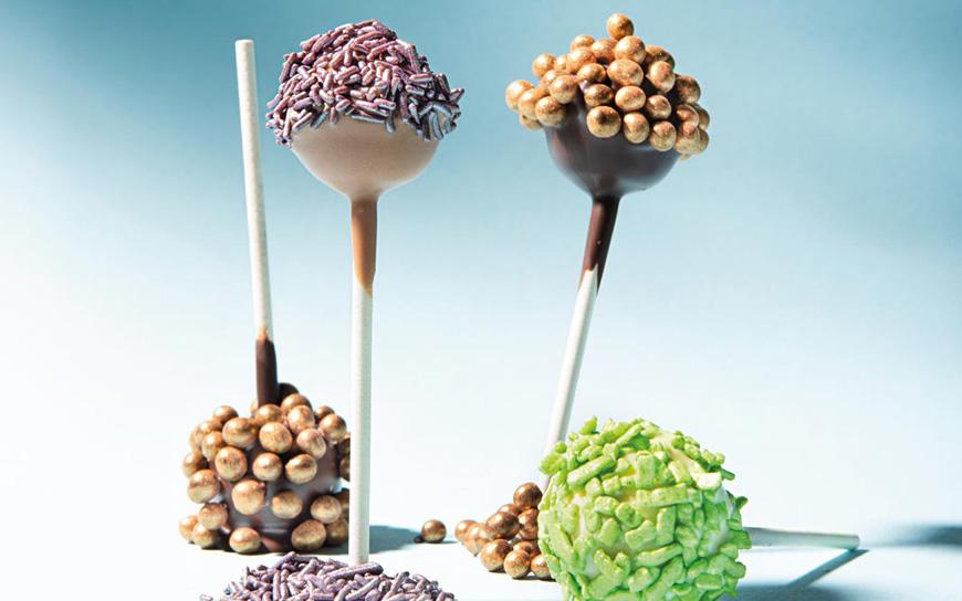Lollipop nocciola caramello