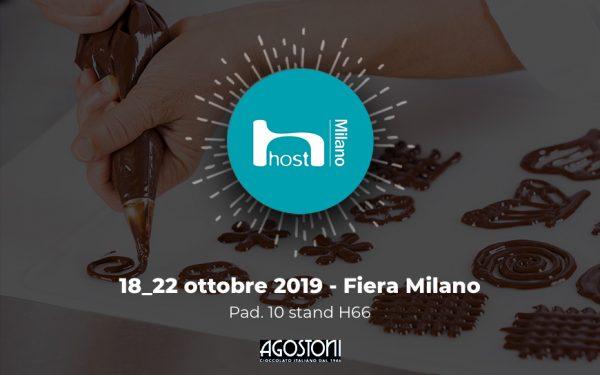 Il brand Agostoni a Host 2019