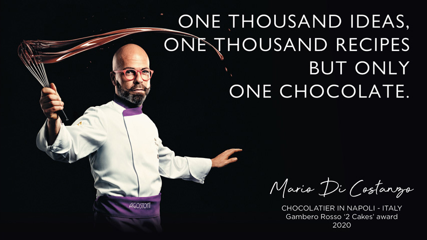 One thousand ideas, one thousand recipes, but only one chocolate!